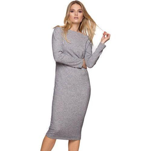 711ec702b1 Sukienka niby komin szara (CAHA) opinie + recenzje - ceny w AlleCeny.pl