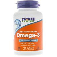 Now Foods Omega-3 1000 mg - 100 kapsułek