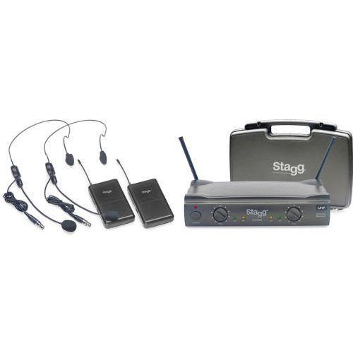 Stagg SUW 50 HH FH EU bezprzewodowy system UHF, podwójny nagłowny