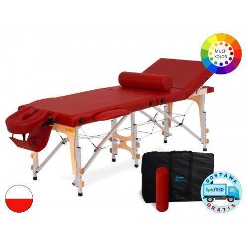 Mov Składany stół do masażu reflex ultra alu z regulacją wysokości