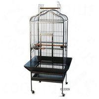 Noble klatka dla papug - Dł. x szer. x wys.: 81 x 78 x 155 cm