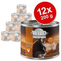 Wild freedom adult, 12 x 200 g - cold river - czarniak i kurczak