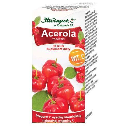 Herbapol kraków Acerola x 30 tabletek