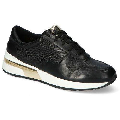 Sneakersy 19015 czarne lico, Nessi