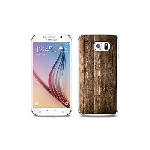 2b80bb69fe51 Samsung Galaxy S6 - etui na telefon Foto Case - drewniane deski ...