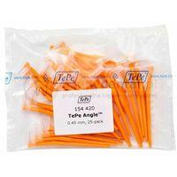 TEPE ID Angle (0.45mm) pomara. 25szt. - zestaw szczoteczek międzyzębowych (szczoteczki w wersji ANGLE)