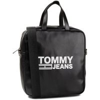 Torebka TOMMY JEANS - Tjw Texture Pu Tote AW0AW07640 BDS