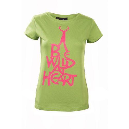 Koszulka damska be wild at heart women, Fjord nansen