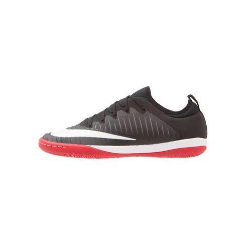 Nike Performance MERCURIALX FINALE II IC Halówki black/white/university red/dark grey