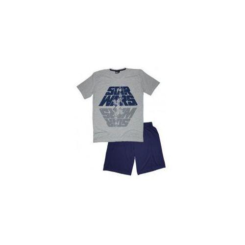 Męska piżama star wars szara xl, Star wars - gwiezdne wojny