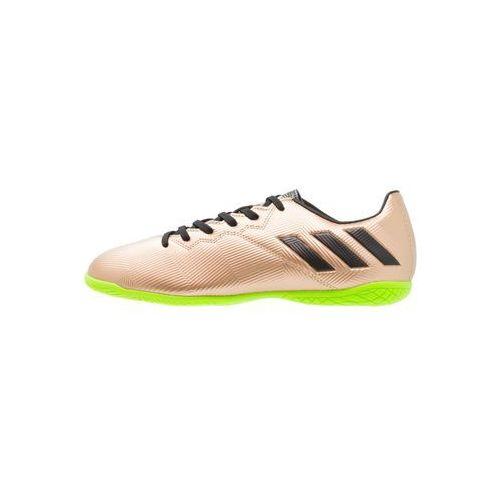 Adidas Performance MESSI 16.4 IN Halówki copper metallic/core black/solar green, CEO83