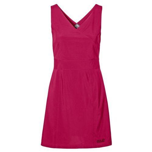Sukienka wahia dress - azalea red, Jack wolfskin