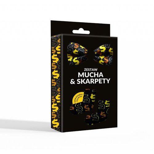 Mucha + skarpety zestaw Dolar, 85-094-2