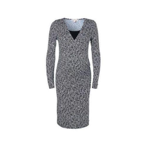 sukienka dla kobiet w ciąży i karmiących black aop, Esprit