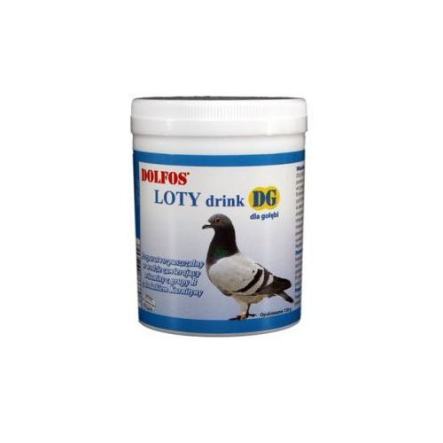 DOLFOS DG Loty Drink - rozpuszczalny preparat dla gołębi z dodatkiem karnityny 100g