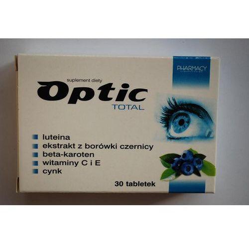 Optic Total tabletki 30 sztuk - zmniejsza uczucia zmęczenia i znużenia oczu Kurier: 13.75, odbiór osobisty: GRATIS