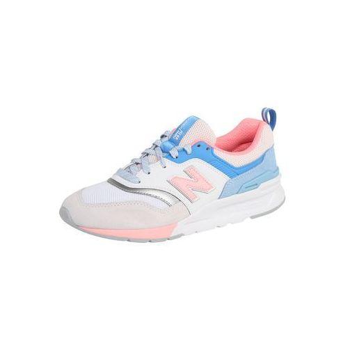 New balance trampki niskie 'cw 997' jasnoniebieski / różowy pudrowy / biały