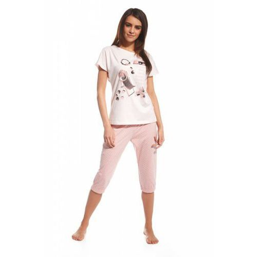 613bd4c4 638/72 i love summer różowy piżama damska (Cornette)