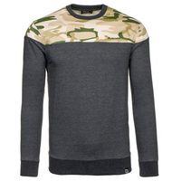 Moro-antracytowa bluza męska bez kaptura Denley 0432 - ANTRACYTOWY SP-2-59.99 zł (-14%)