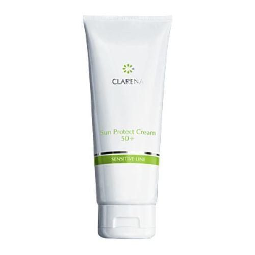 sun protect cream spf 50+ krem przeciwsłoneczny spf 50+ - 30 ml (1374) marki Clarena