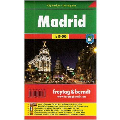 Madrid / city plan 1:10 000 freytag & berndt (9783707909265)