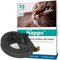 Bros Obroża dla kota na pchły kleszcze happs 43cm (5904517048652)