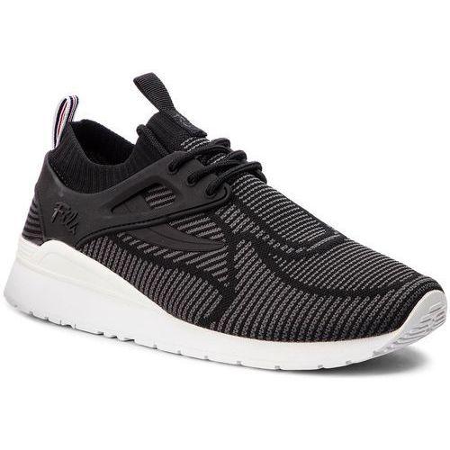 Sneakersy - overpass 2.0 knit 1rm00121.003 blk/wht/dksh Fila