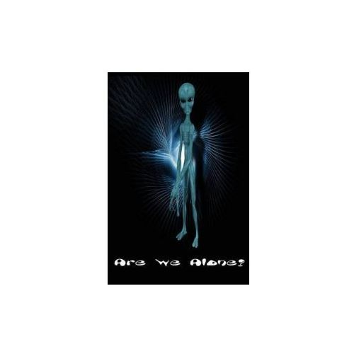Are We Alone?: Aliens Outer Space UFOs Journal Log Doodle Sketch Drawing Note Book No Lines Unruled 6 X 9 186 Pages Blank