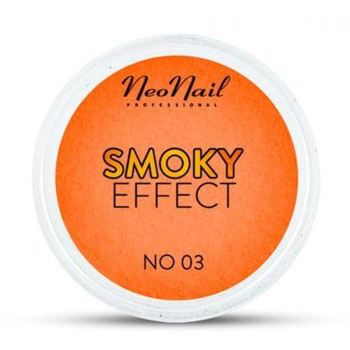 Neonail smoky effect pyłek no 03 (pomarańczowy)