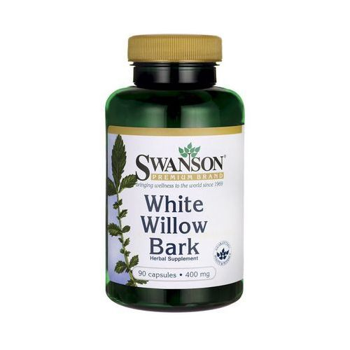 Swanson White Willow Bark (kora wierzby białej) 400mg 90 kaps.