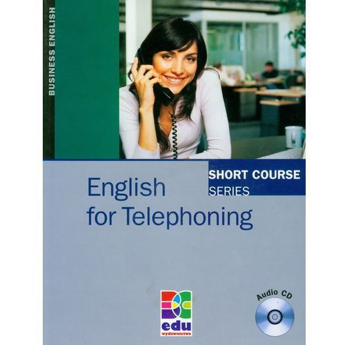 English For Telephoning Z Płytą Cd, oprawa miękka