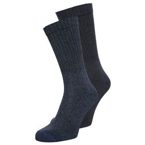 Levi's® LEVIS 120SF REGULAR CUT 2 PACK Skarpety dark denim, kolor niebieski