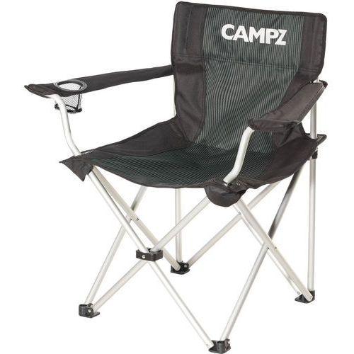 CAMPZ Aluminium Krzesło turystyczne szary/czarny 2018 Krzesła składane (4052406210367)