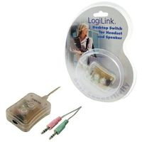 LogiLink 2x audio (HS0010) Darmowy odbiór w 20 miastach! (4260113565612)