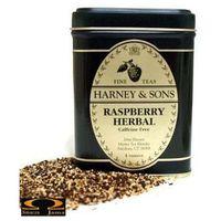 Herbata raspberry owocowy napar puszka 227g marki Harney & sons