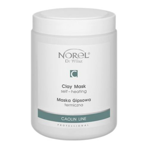 Norel (dr wilsz) clay mask self-heating termiczna maska gipsowa (pn243)