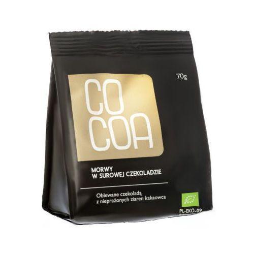 COCOA 70g Morwy tureckie w surowej czekoladzie Bio