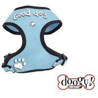 Doogy klasyczne i wygodne szelki dla psa, błękitne