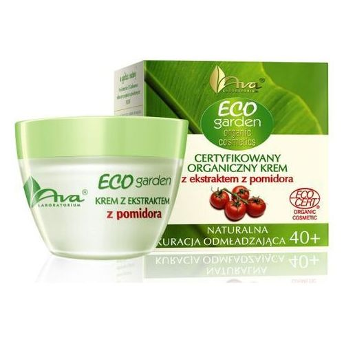 Ava Eco Garden certyfikowany organiczny krem z ekstraktem z pomidora
