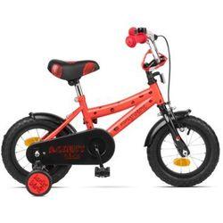 Rower ACCENT Ladybird czerwony / Materiał ramy: stal / Płeć: dziecięce