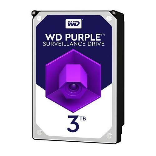 Dysk twardy do rejestratorów cyfrowych WD Purple 3TB (0718037856735)