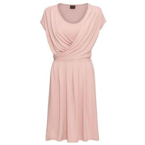 Sukienka dzianinowa jasnoszaro-ciemnoszary melanż, Bonprix, 32-38