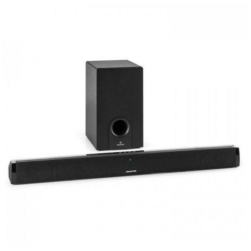 auna Areal Bar 550 Soundbar (projektor dźwiękowy) 2.1 z subwooferem Bluetooth 60 W RMS wejście AUX
