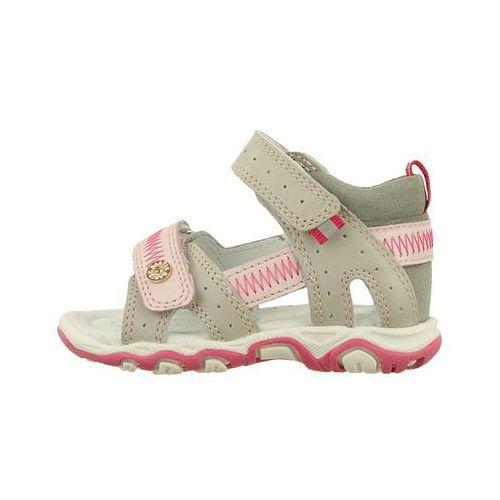 b65b9e55f9d04 BARTEK 31824-0SZ szaro różowy, sandały dziecięce, rozmiary: 19-26 -