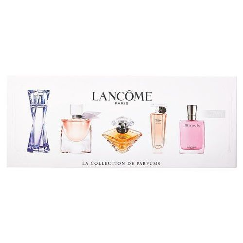 Mini set w zestaw perfum 5ml edp hypnose + 4ml edp la vie est belle + 7,5ml edp tresor + 5ml edp tresor in love + 5ml edp miracle Lancome - Najtaniej w sieci