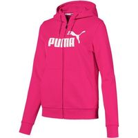 Puma Ess Logo Hooded Jacket Fl Beetroot Purpl XS