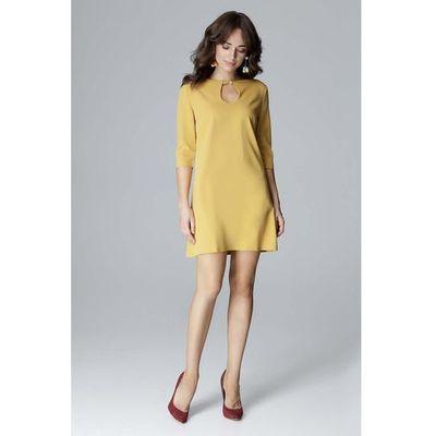 7840d5f1f3 Suknie i sukienki Kolor  żółty