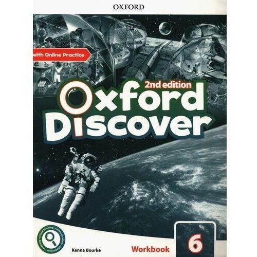 Oxford discover 6 wb + online practice w.2020 - praca zbiorowa
