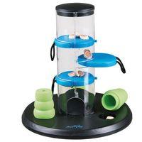 Trixie dog activity gambling tower zabawka na inteligencję - ø x wys.: 25 x 27 cm| -5% rabat dla nowych klientów| darmowa dostawa od 99 zł