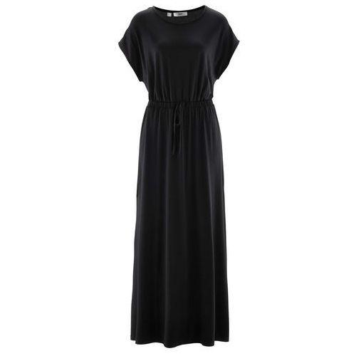 Długa sukienka czarny Bonprix